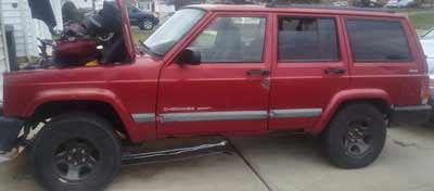 1999 Jeep Cherokee Sold to JunkCarMedics.com for $290