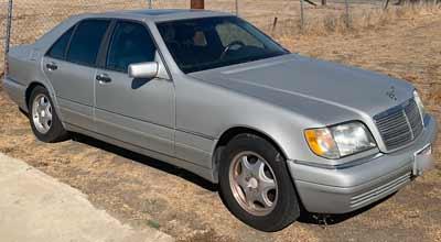 1999 Mercedes S Sold to Junk Car Medics for $475