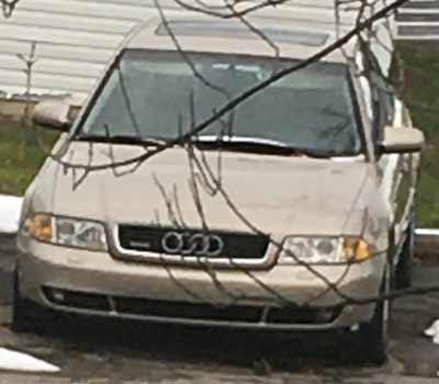 2001 Audi A4 Sold to Junk Car Medics for $400