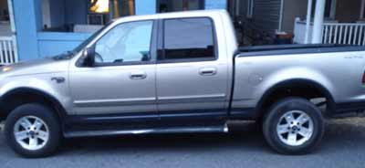 2001 Ford F-150 Sold to JunkCarMedics.com for $445
