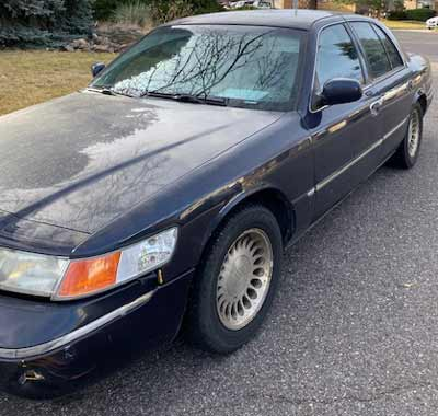 2001 Mercury Grand Marquis Sold to JunkCarMedics.com for $330