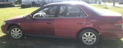 2002 Honda Accord Sold to Junk Car Medics for $370