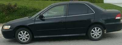 2002 Honda Accord Sold to JunkCarMedics.com for $210