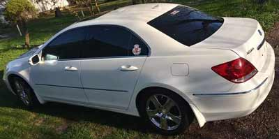 2005 Acura RL Sold to Junk Car Medics for $465