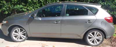 2012 Kia Forte 5DR Sold to Junk Car Medics for $1035
