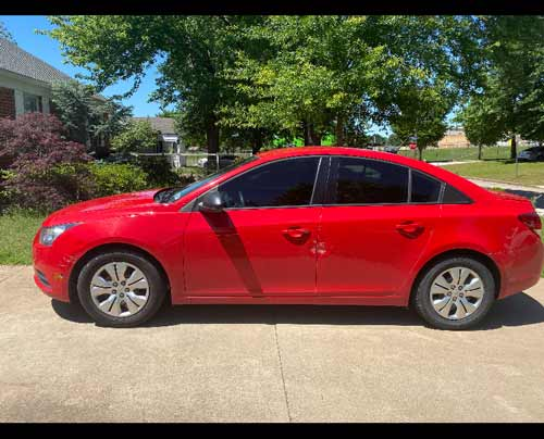 2014 Chevrolet Cruze Sold to JunkCarMedics.com for $1400