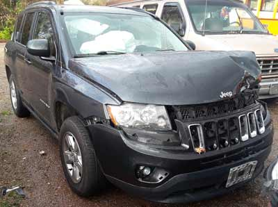 2014 Jeep Compass Sold to Junk Car Medics for $1505
