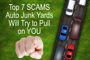 10 car junk yard scams