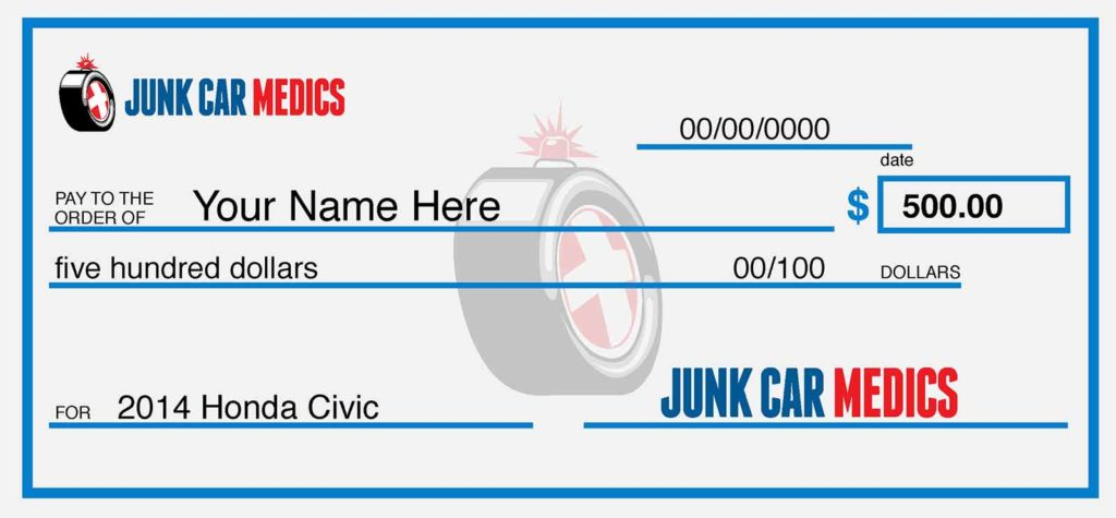Sell My Junk Car for $500 - Get Cash for Junk Cars Today From Junk Car Medics 1