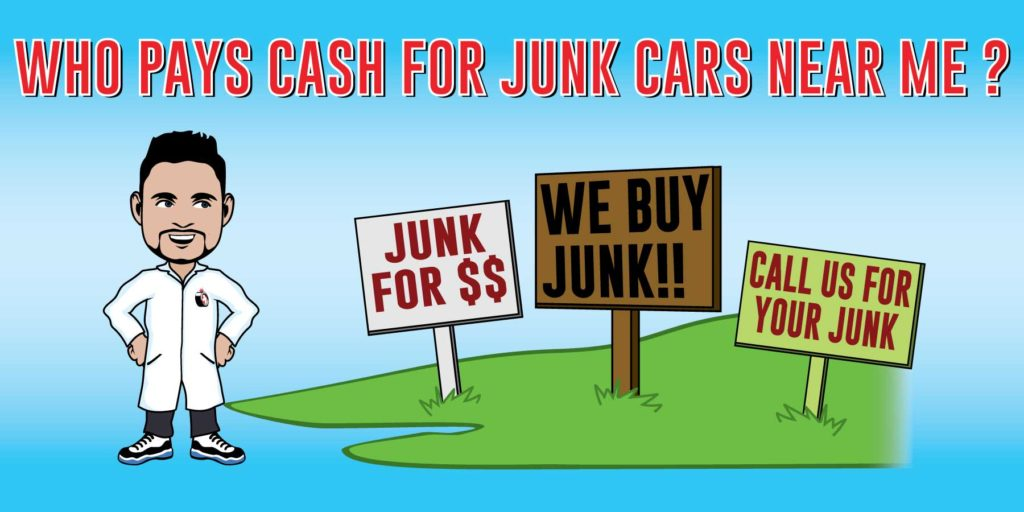 Sell My Junk Car For $500 | Who Buys Junk Cars for Cash Near Me?