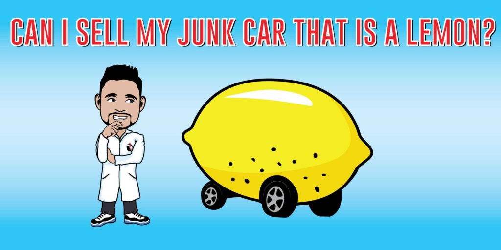 can i sell junk car lemon