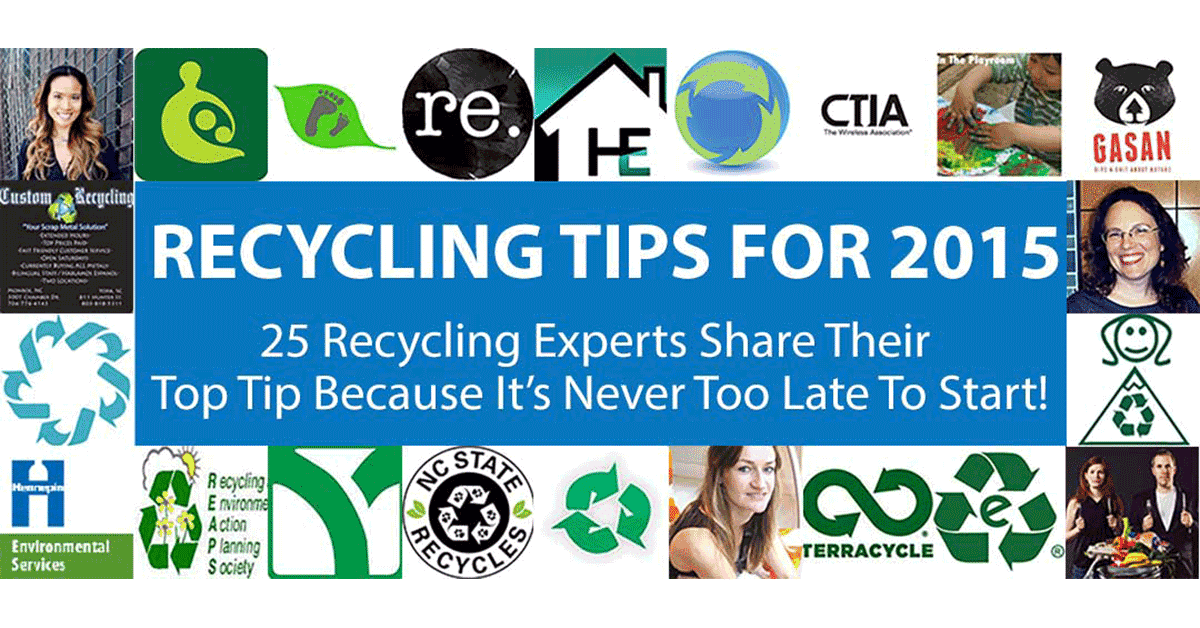 Recycling Tips for 2015